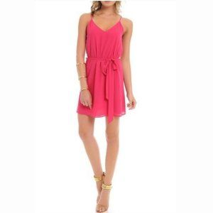 Pink Tie Waist Nordstrom Dress